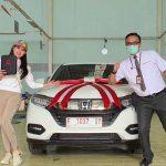 Foto Serah Terima Mobil Honda Cianjur 2020